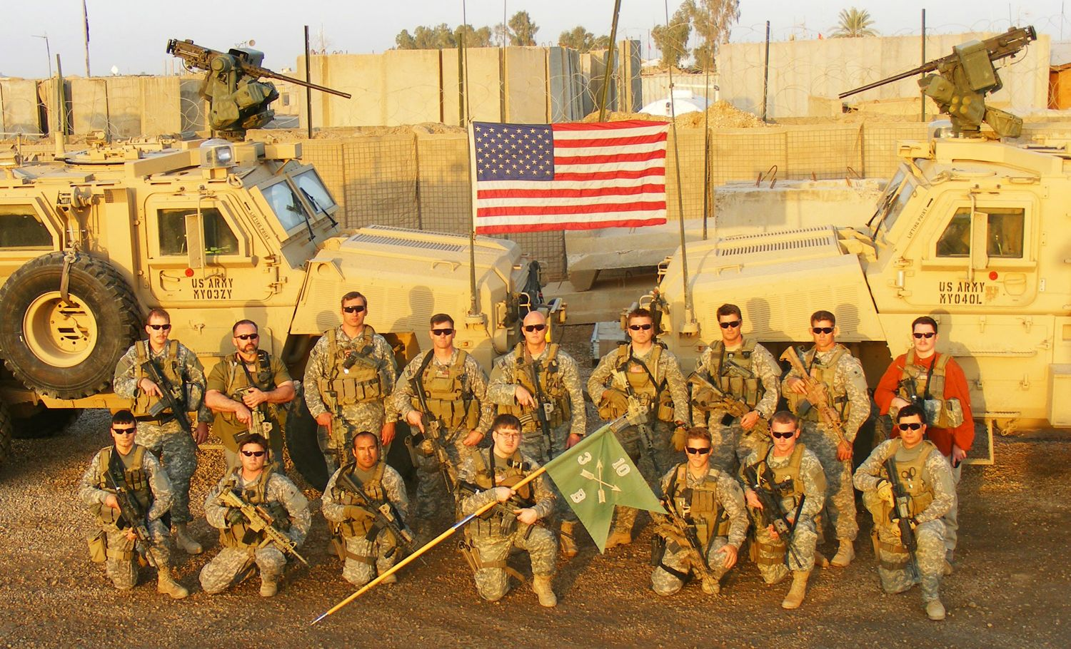 Benjamin Patch with 10th Special Forces Group in Iraq.